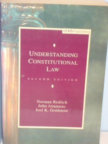 9780820540573: Understanding Constitutional Law (Legal Text Series)