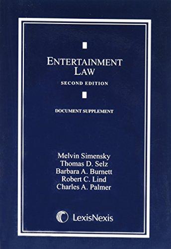 9780820542607: Entertainment Law Document Supplement