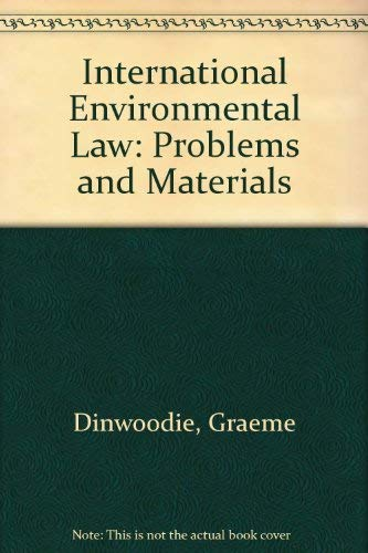9780820545226: International Environmental Law: Cases, Materials, and Problems