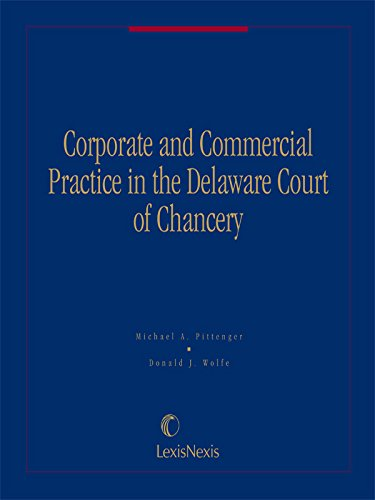 9780820549040: Corporate and Commercial Practice in the Delaware Court of Chancery