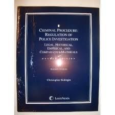 Teacher's Manual for Criminal Procedure: Regulation of: Christopher Slobogin