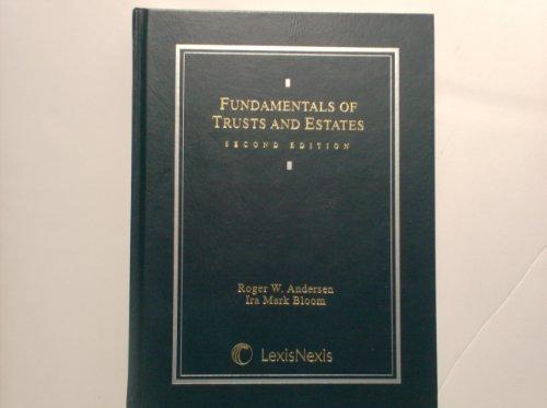9780820553870: Fundamentals of Trusts and Estates