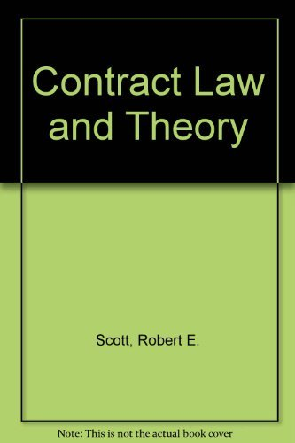 9780820555140: Contract Law and Theory