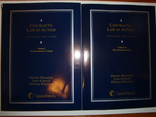 9780820557212: Contracts: Law in Action