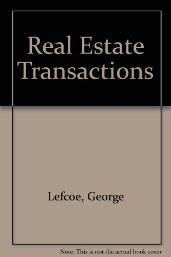 9780820557274: Real Estate Transactions