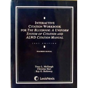9780820557427: Interactive citation workbook for ALWD citation manual