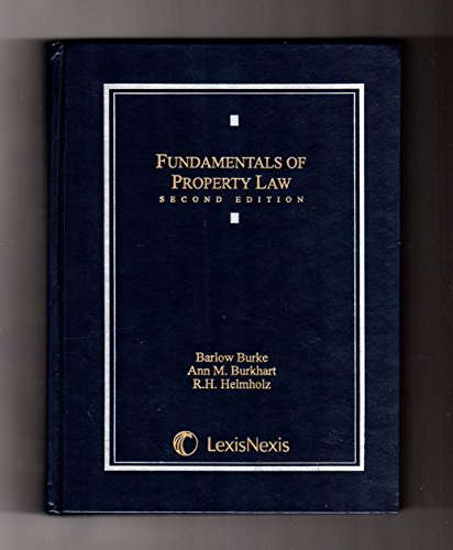 9780820559902: Fundamentals of Property Law