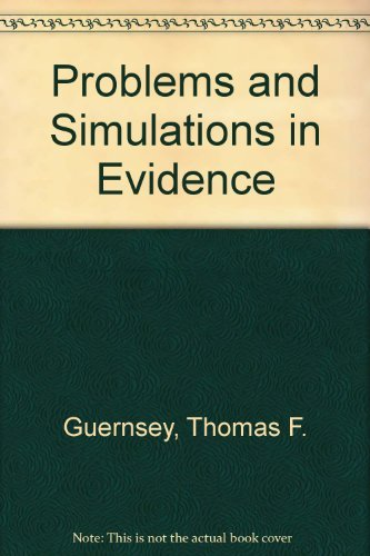 9780820560854: Problems and simulations in Evidence