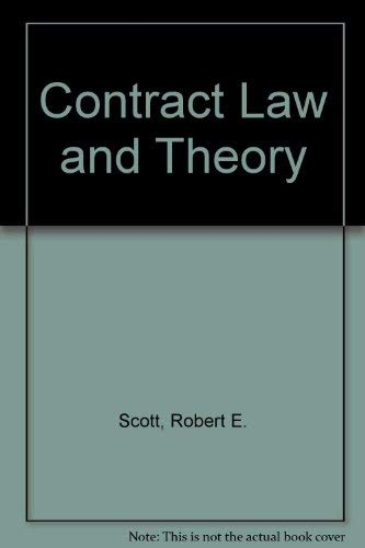 9780820561028: Contract Law and Theory