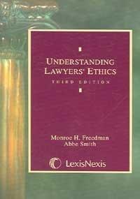 9780820561172: Understanding Lawyers' Ethics