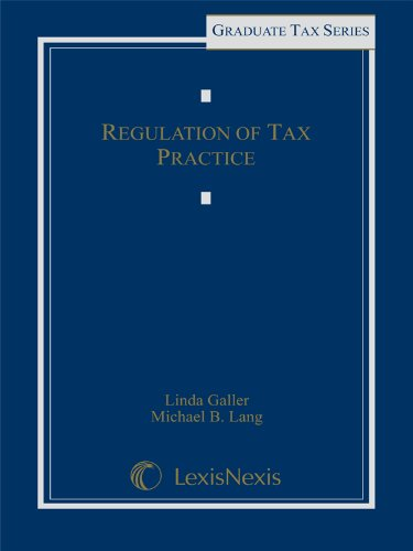 9780820562483: Regulation of Tax Practice