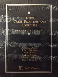 9780820563312: TORTS Cases, Problems, and Exercises