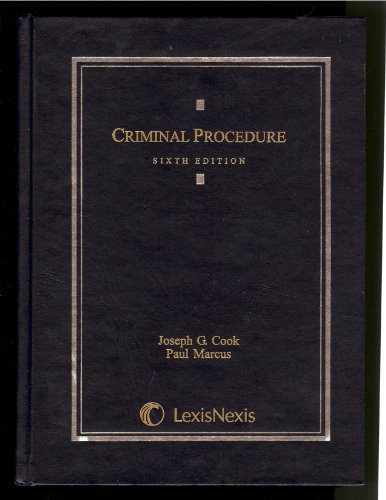 9780820564029: Criminal Procedure, 6th Edition