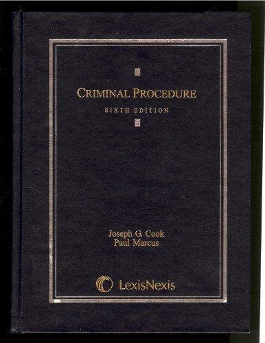 9780820564029: Criminal Procedure, 6th Edition