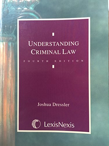 9780820570013: Understanding Criminal Law
