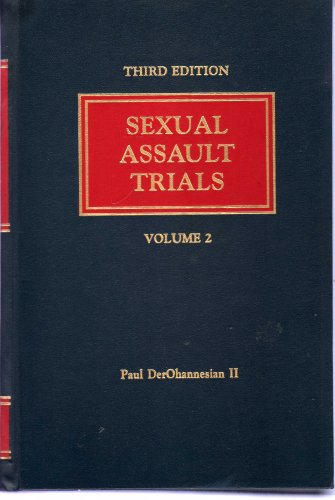 9780820574660: Sexual Assault Trials (Volume 1 and 2)