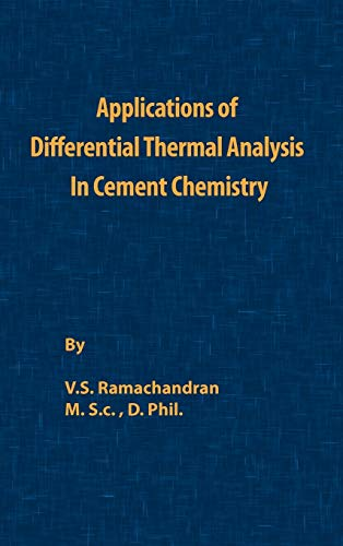 9780820600246: Application of Differential Thermal Analysis in Cement Chemistry