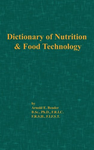 9780820602141: Dictionary of Nutrition and Food Technology