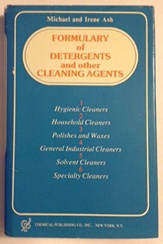 9780820602479: Formulary of Detergents and Other Cleaning Agents