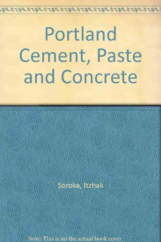 9780820602813: Portland Cement, Paste and Concrete