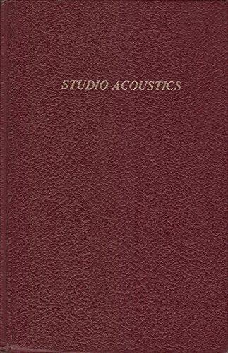 9780820602837: Studio Acoustics [Hardcover] by Rettinger, Michael