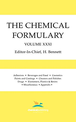 9780820603438: The Chemical Formulary: Collection of Commercial Formulas for Making Thousands of Products in Many Fields, Vol. 31