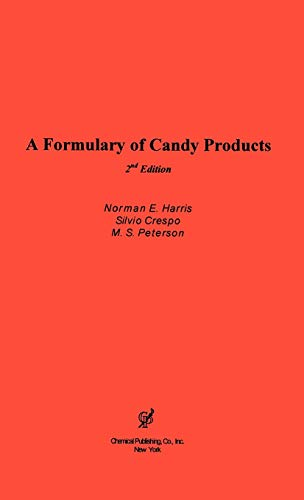 9780820603537: A Formulary of Candy Products