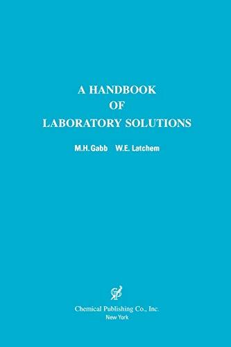 9780820603650: A Handbook of Laboratory Solutions