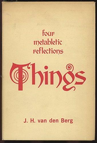 9780820701301: Things - Four metabletic reflections (metablectic)