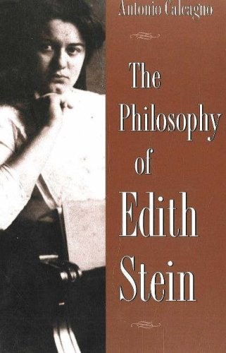 9780820703992: The Philosophy of Edith Stein