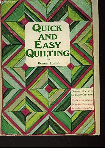 9780820803432: Quick and Easy Quilting