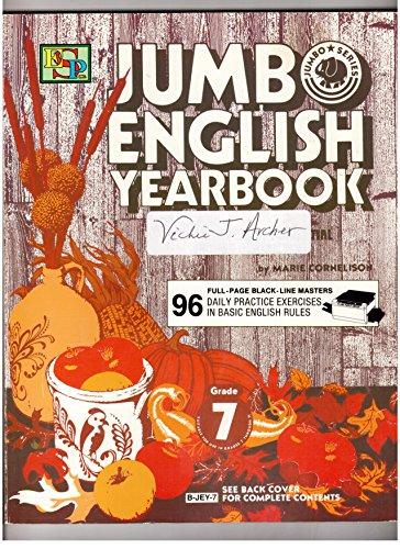 9780820900056: Jumbo English Yearbook Grade Seven / Blackline Master (B-Jey-5)