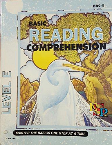 Basic Reading Comprehension Level E.: Bearl Brooks.