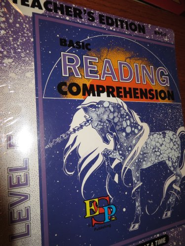 9780820906546: Basic Reading Comprehension: Master the Basics One Step at a Time, Level F, Student Edition