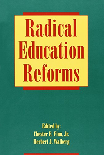 9780821105092: Radical Education Reforms