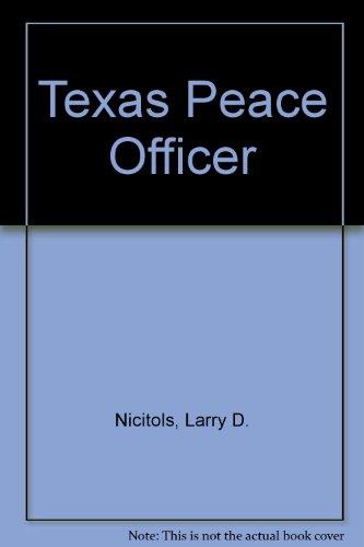 9780821117637: Texas Peace Officer (7th edition)