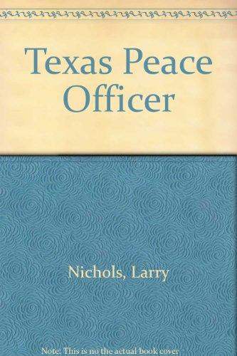 9780821117675: Texas Peace Officer