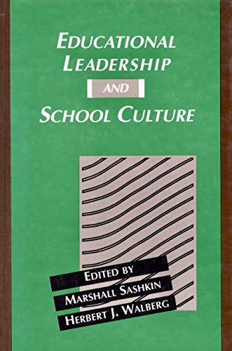9780821118610: Educational Leadership and School Culture (Series on Contemporary Educational Issues)