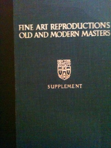 9780821201237: Fine Art Reproductions, Old and Modern Masters