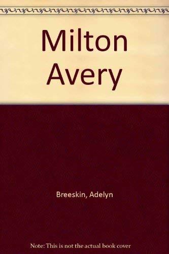 9780821203484: Milton Avery