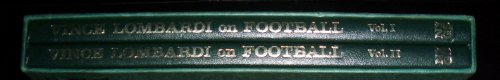 Vince Lombardi on Football -- 2 Volume Set in Slipcase -- Volumes I and II: Lombardi, Vince Jr.