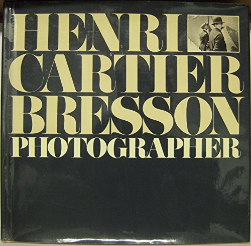 9780821207567: Henri Cartier-Bresson: Photographer