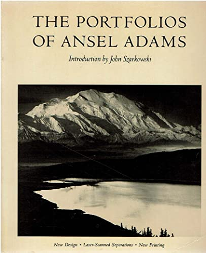 9780821211229: The Portfolios Of Ansel Adams (A New York Graphic Society book)