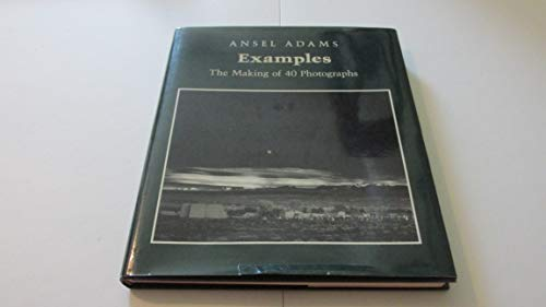 9780821215517: Examples: The Making Of 40 Photographs: Making of Forty Photographs
