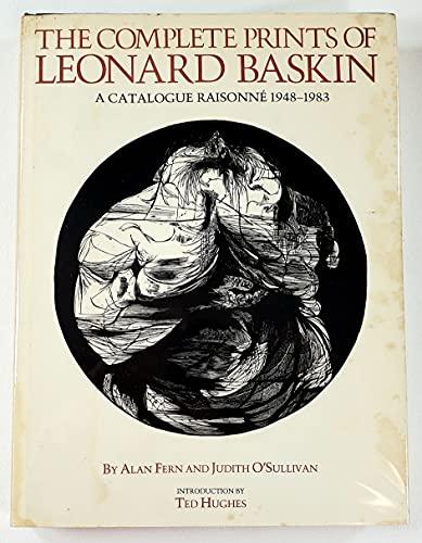 The Complete Prints of Leonard Baskin: A: Leonard Baskin, Alan