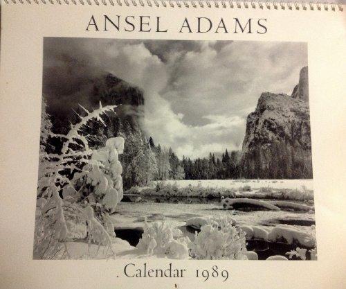 9780821216996: Ansel Adams 1989 Wall Cal