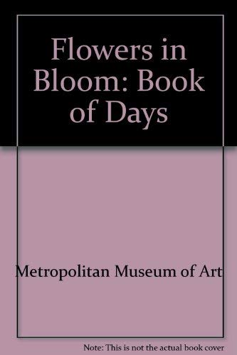 9780821218235: Flowers in Bloom: A Book of Days