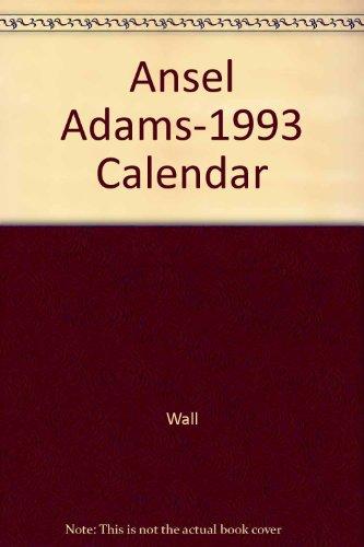 9780821219263: Ansel Adams 1994 Wall Calendar