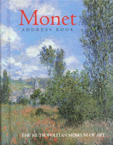 9780821220894: Monet Address Book