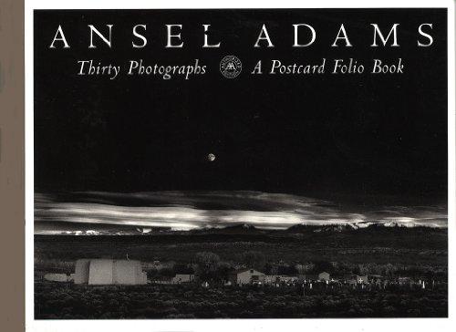 9780821221051: Ansel Adams' Postcards - Thirty Photographs